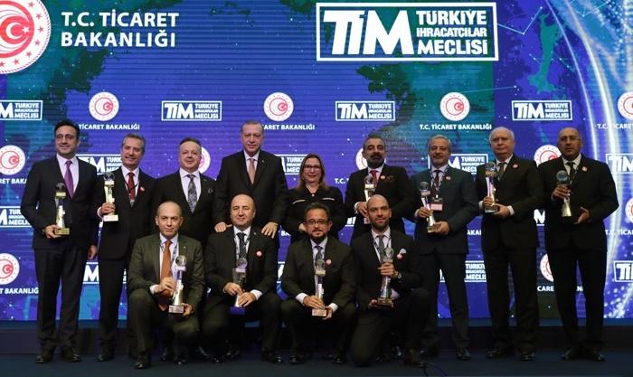 Hizmet ihracatı şampiyonlarına ödül