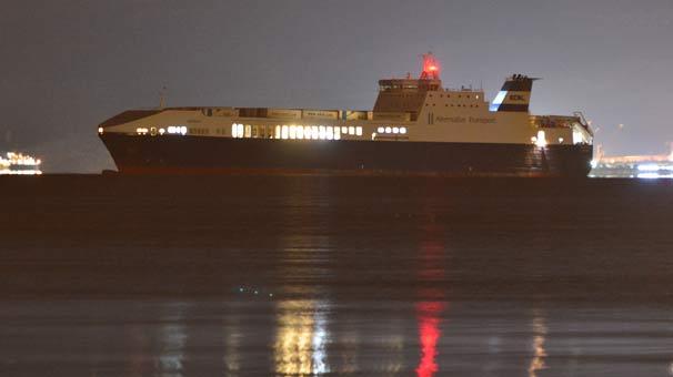 Ekol Lojistik'in Ro-Ro gemisinde yangın çıktı