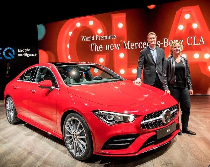 Mercedes-Benz, yeni CLA modelini tanıttı