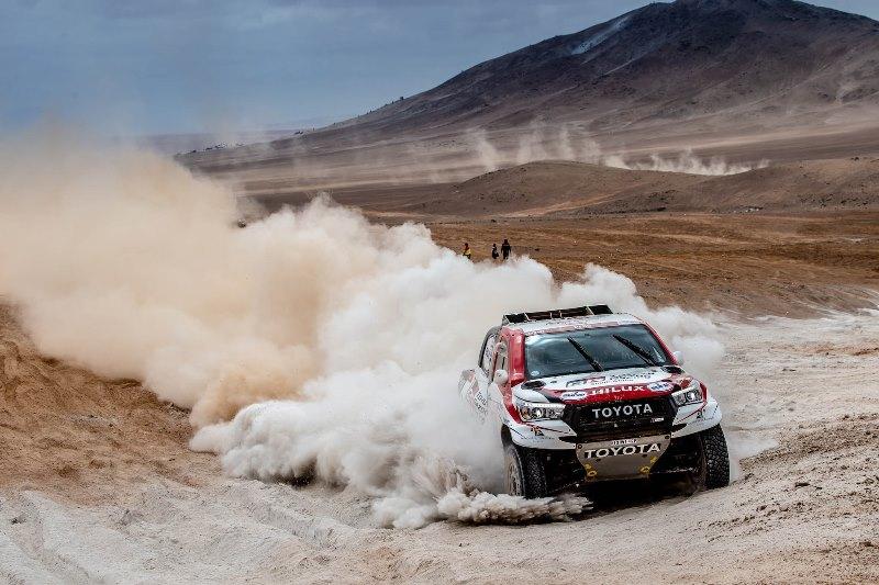 Dakar Rallisi'nin yeni lideri Toyota
