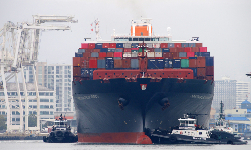 Container fire on Yantian Express 'under control'