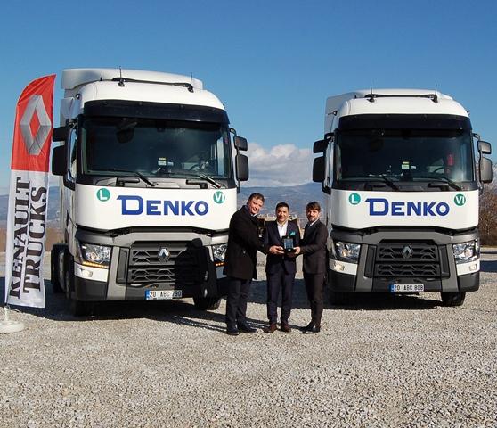 DENKO Nakliyat, araç parkına 8 Renault Trucks daha kattı
