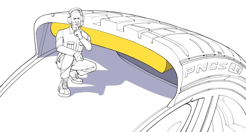 Pirelli'den sessiz lastikler