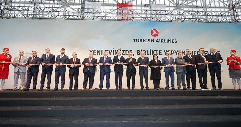THY İstanbul Havalimanı Tesisleri açıldı
