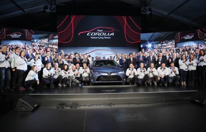 Türk yapımı yeni Corolla üretim bandından indi
