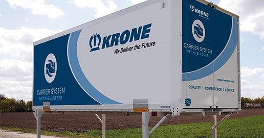 Krone, swapbody kapasitesini ikiye katladı