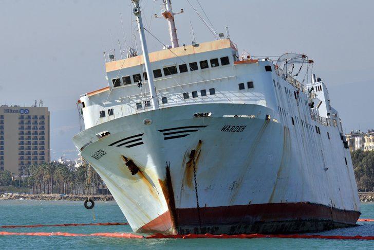 Wardeh, içinde 400 ton fuel oil ile Bey Gübre'ye satıldı