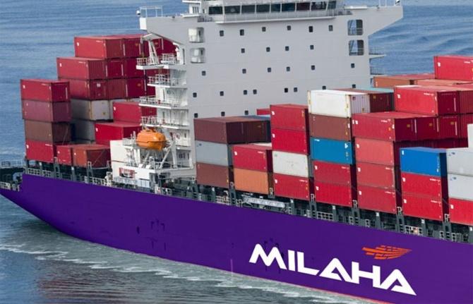 Katarlı Milaha'dan Türkiye uğraklı konteyner hattı