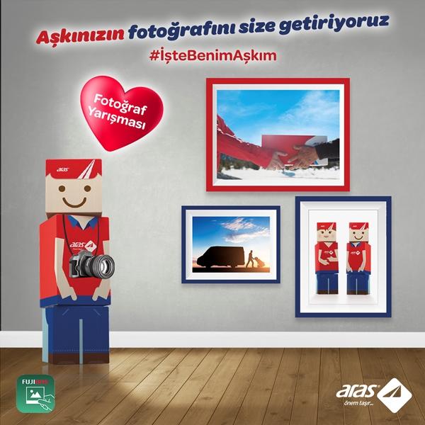 Aras Kargo Aşkınızın Fotoğrafını Size Getiriyor