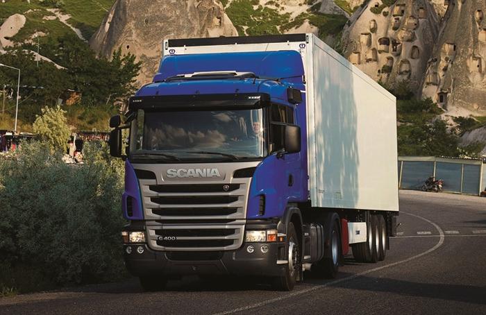 Scania13 litrelik yeni motor ile daha güçlü