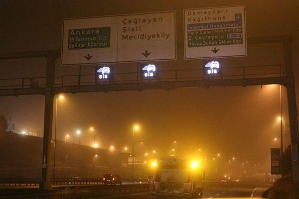 İstanbul'da 10 metreden sonrası görülmüyor