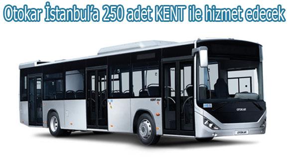 Otokar İstanbul'a KENT ile hizmet edecek