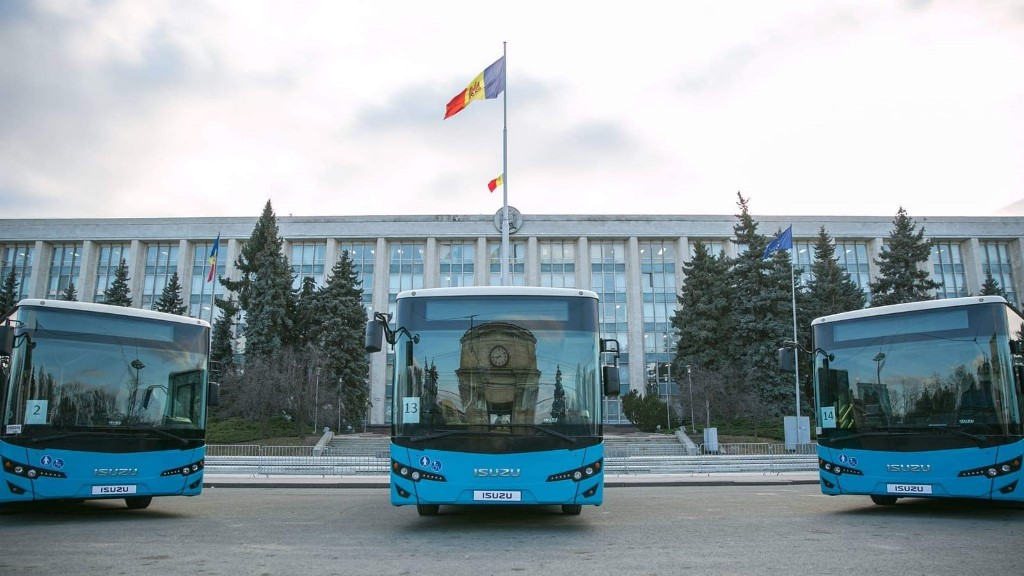 Anadolu Isuzu'dan Moldova'ya 31 Citiport