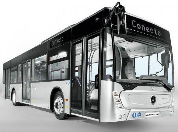 Mercedes'in Conecto teslimatları tam gaz