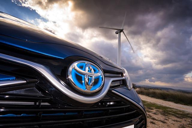 En düşük emisyon ortalaması rekoru Toyota'nın