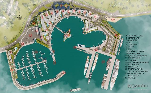 Zeytinburnu sahiline mega yat limanı projesi