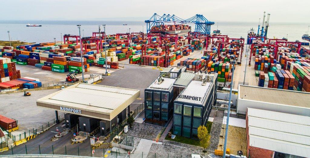 Kumport, Marmara'nın en fazla ithalat yükü yükleyen limanı