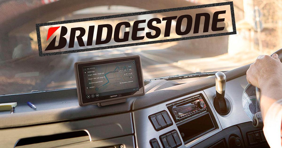 Bridgestone, TomTom'u almak için düğmeye bastı