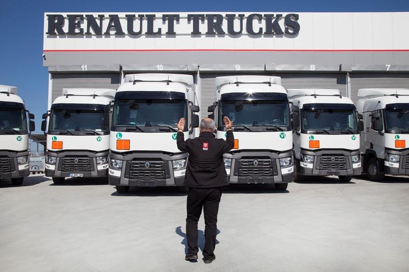 Sevnak, zorlu bölgeler için Renault Trucks'ı tercih etti