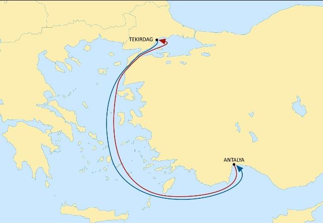 MSC, bir servis rotasını daha Türkiye'ye kaydırdı