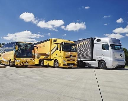 Mercedes'ten kamyon ve otobüste nisan ayı fırsatları