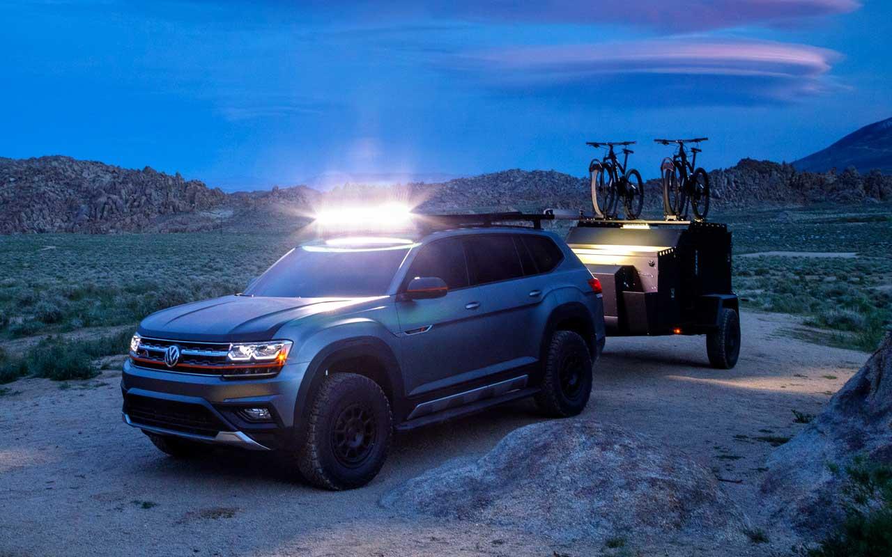 Dağcılar buna bayılacak: VW Atlas Basecamp