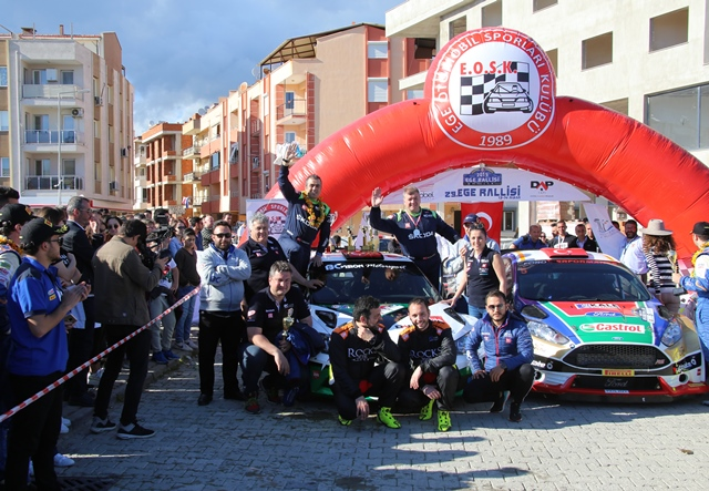 29.Ege Rallisi'nde zafer Castrol Ford Team'in