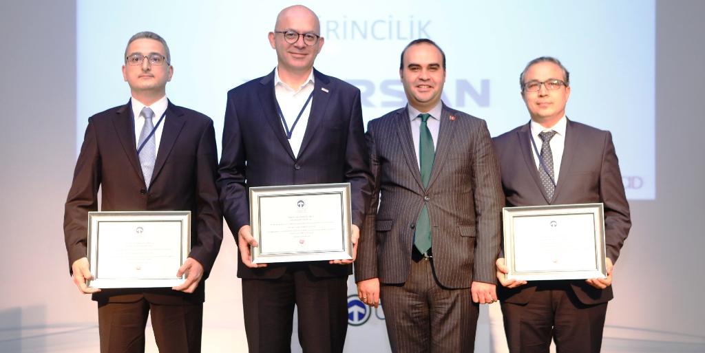 Ege Endüstri'ye TAYSAD'dan patent ödülü