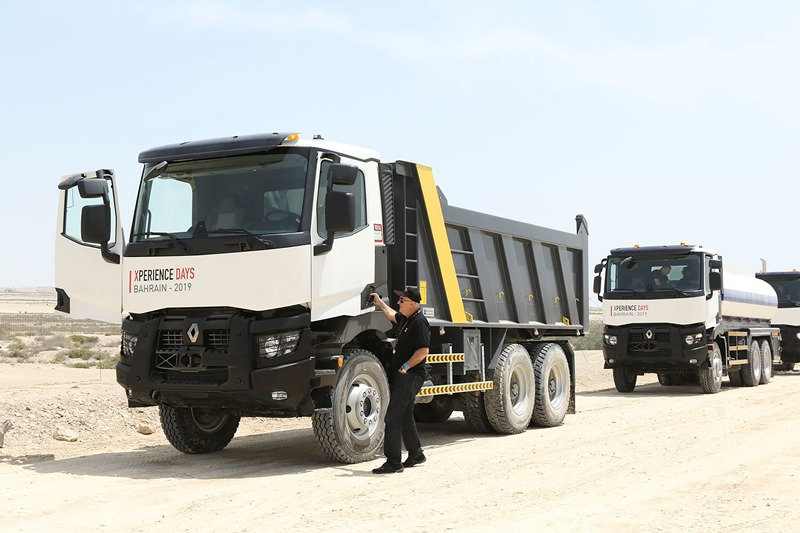 Renault Trucks, müşterilerini Bahreyn'de ağırladı