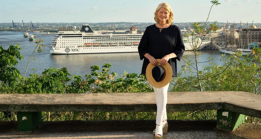 Martha Stewart MSC misafirlerini yeni lezzetlerle tanıştıracak
