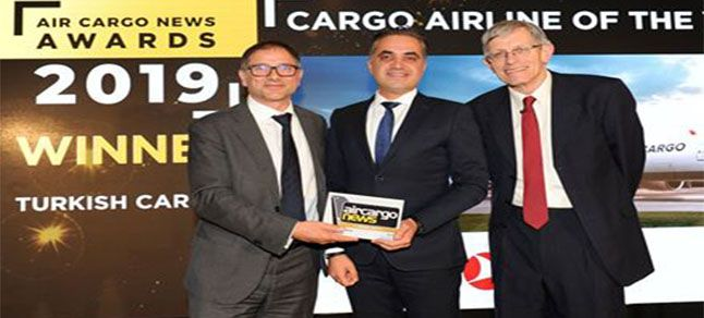 Turkish Cargo'ya Cargo Airline of the Year ödülü