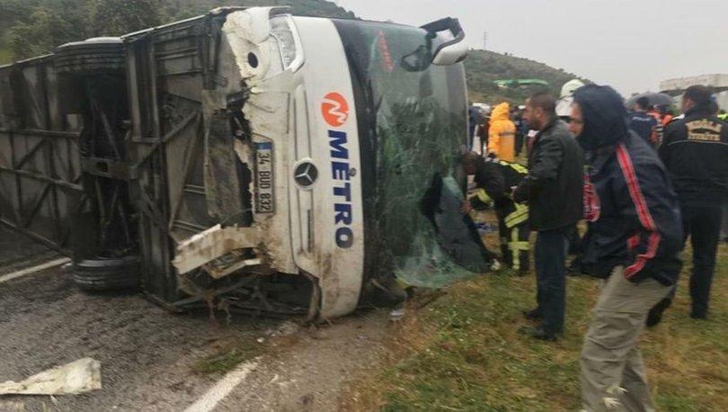 Muğla'da yolcu otobüsü devrildi! 3 ölü, 39 yaralı
