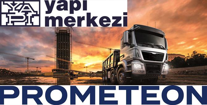 Prometeon Türkiye, Yapı Merkezi ile yurtdışında da olacak