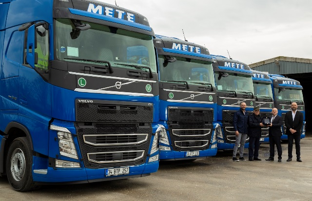 Mete Transport filosuna 5 Volvo Trucks daha ekledi