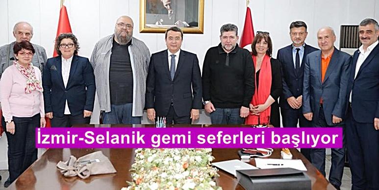 İzmir-Selanik gemi seferleri başlıyor
