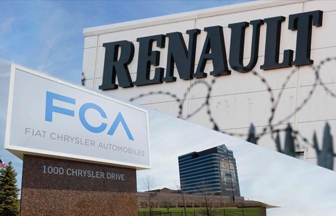 """Fiat Chrysler, Renault'a """"gel birleşelim"""" dedi"""