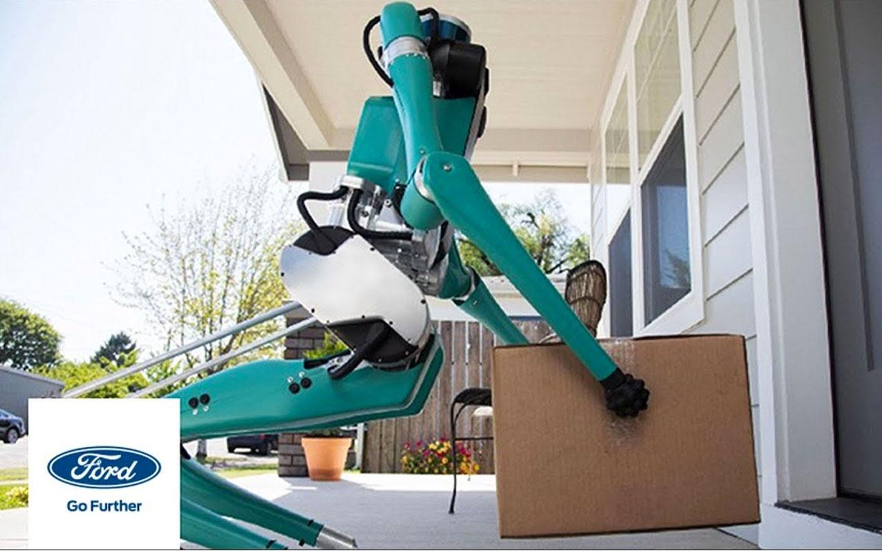 Ford, kargo taşıyabilen yapay zekalı robotlar üretecek