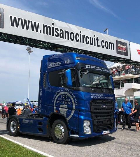 Ford Trucks F-MAX, 'Avrupa Kamyon Şampiyonası'nın resmi aracı oldu