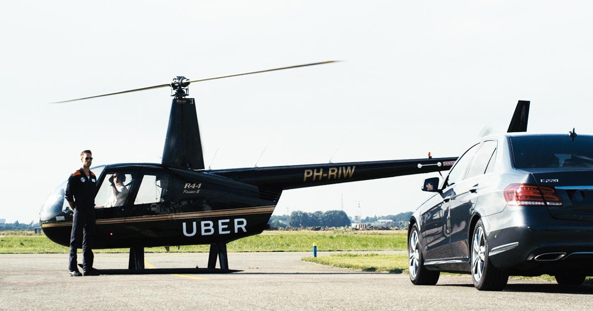 Uber Copter ABD'de start aldı, bizde de başlayabilir