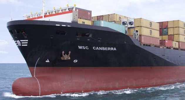 MSC Canberra'yı kaçak yolcu mu yaktı?