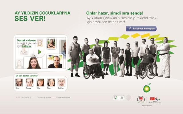 BP, Türkiye'yi Ay Yıldızın Çocukları'na ses vermeye çağırıyor