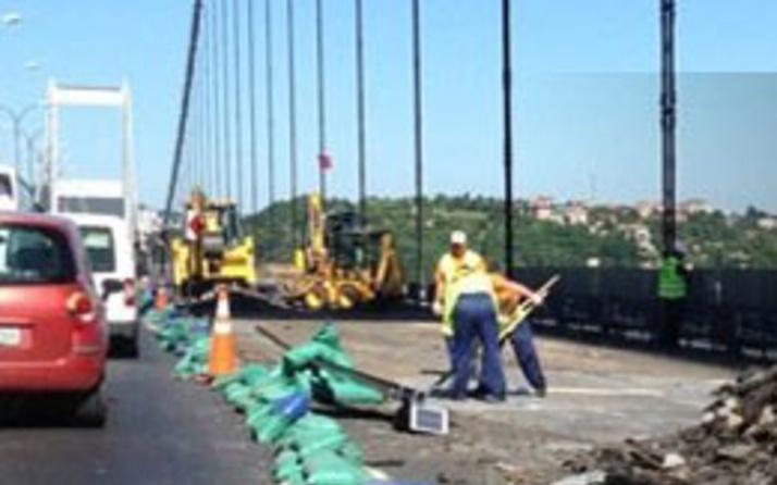 Dikkat! 15 Temmuz Şehitler ve FSM köprülerinde çalışma var