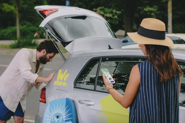 """Volkswagen tam elektrikli araçlarını """"WeShare"""" ile paylaşacak"""