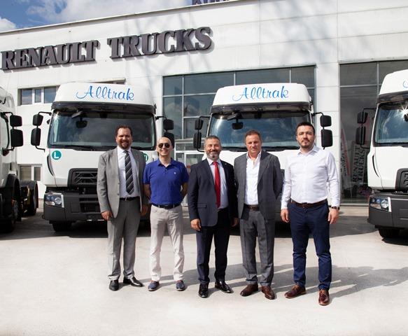Alltrak, hammaddeleri Renault Trucks D serisiyle taşıyacak