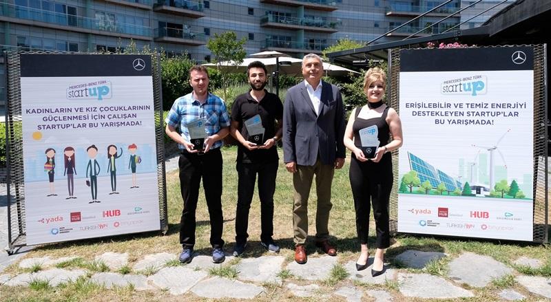 Mercedes StartUP 2019'un kazananları açıklandı