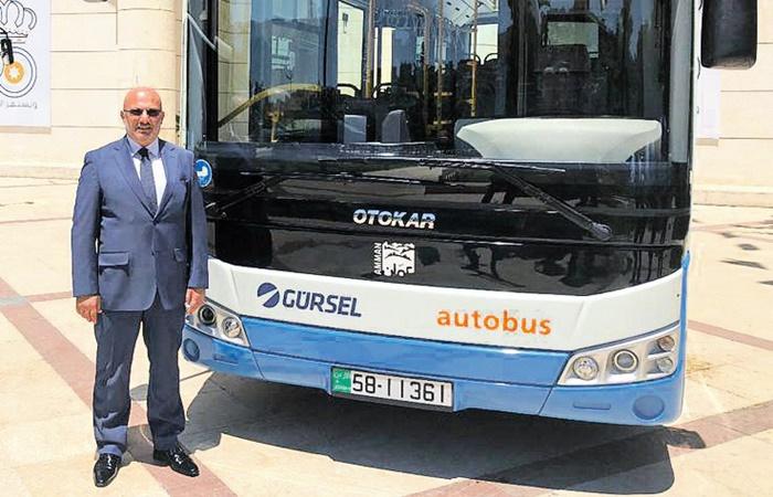 Amman'ın toplu taşıması Gürsel'den sorulacak