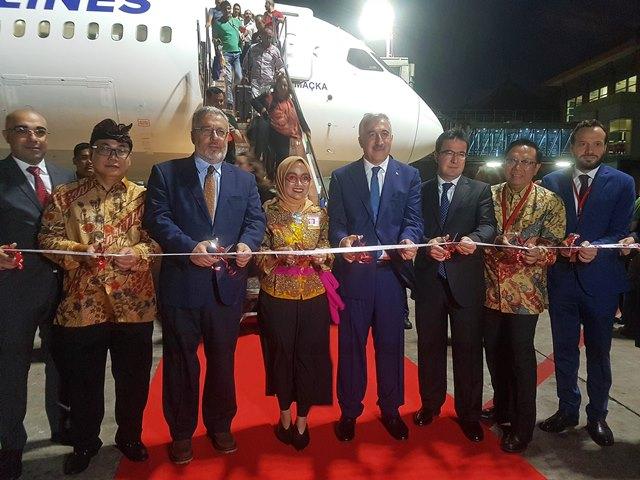 Tatil adası Bali de, artık THY uçuş ağında