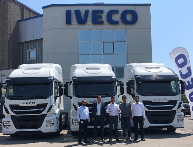 IVECO'dan Fırat Nakliyat'a 3 Stralis çekici teslimatı