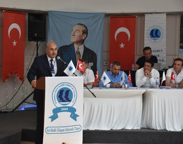 İstanbul Halk Ulaşım'da Başkan yine oybirliğiyle Yağız