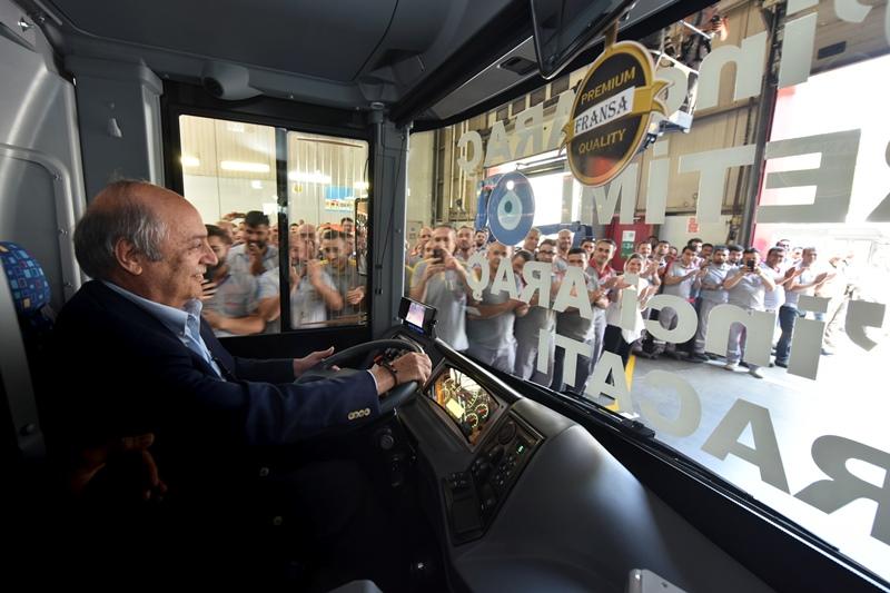 Anadolu Isuzu 170 bininci aracını üretti